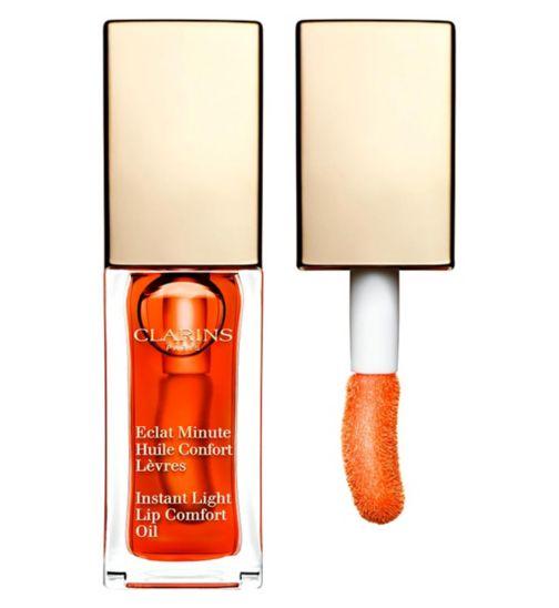 Clarins Instant Light Lip Comfort Oil - 05 Tangerine