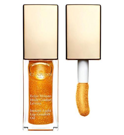Clarins Instant Light Lip Comfort Oil 07 Honey Shimmer
