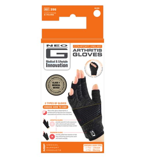 Neo G Comfort / Relief Arthritis Gloves – Medium
