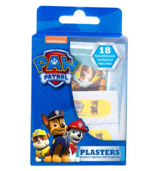 Paw Patrol Plasters - 18 plasters