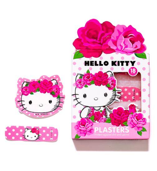 Hello Kitty Plasters - 18 Plasters
