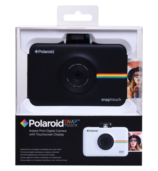 Polaroid Snap Touch Camera - Black