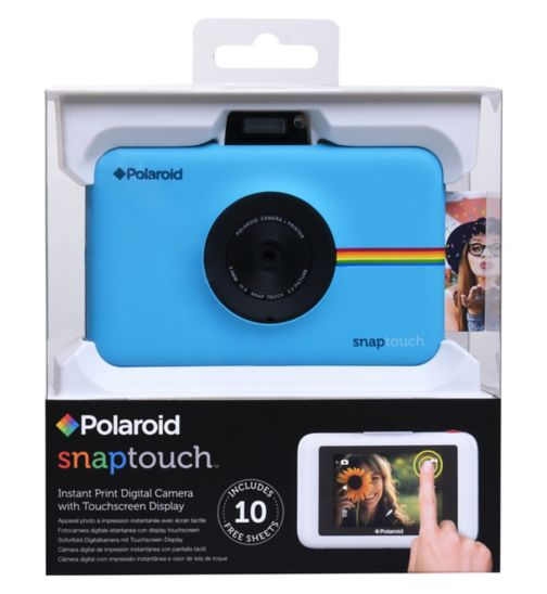 Polaroid Snap Touch Instant Camera - Blue