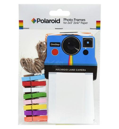 Polaroid vintage camera photo frames