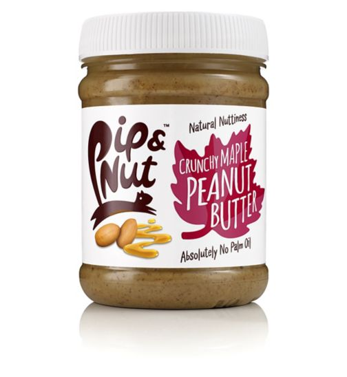 Pip & Nut Crunchy Maple Peanut Butter - 250g