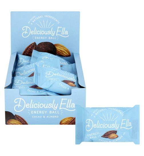 Deliciously Ella Cacao & Almond Energy Ball 12 x 40g