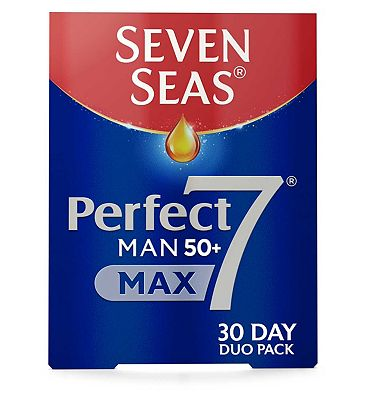 Seven Seas Perfect7 Man 50+ Max 60 Supplements