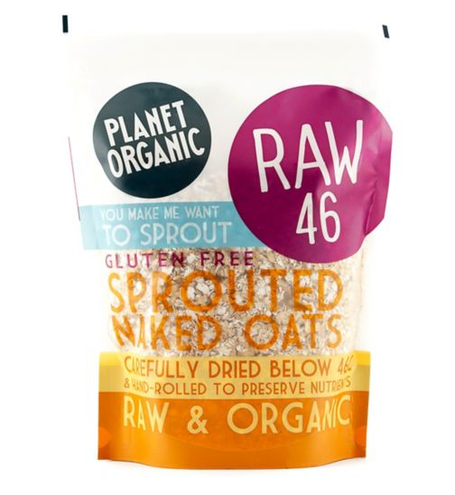 Planet Organic Sproutd rolled oats 600g