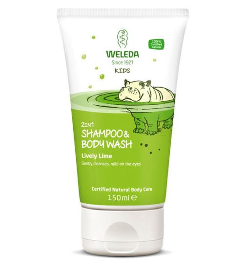 Weleda Kids 2 in 1 Shampoo & Body Wash Lively Lime 150ml