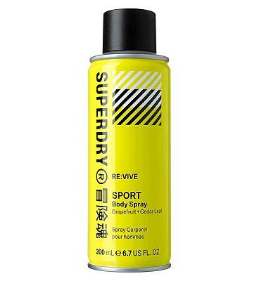 Superdry Sport RE:vive bodyspray 200ml