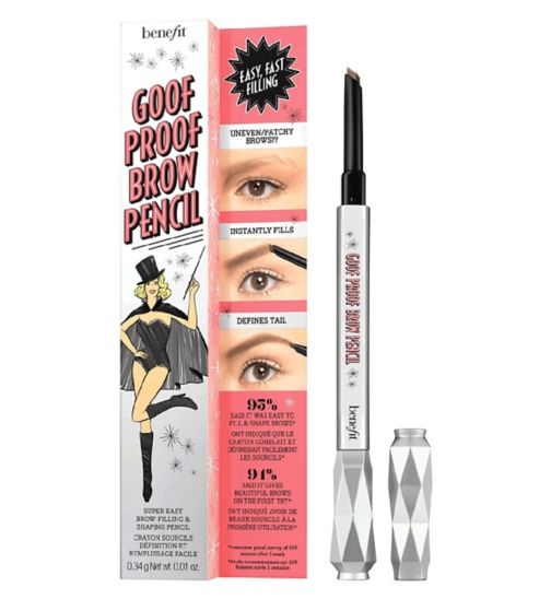 Benefit Goof Proof Brow Pencil Travel Sized Mini Shade - 3 (Medium)