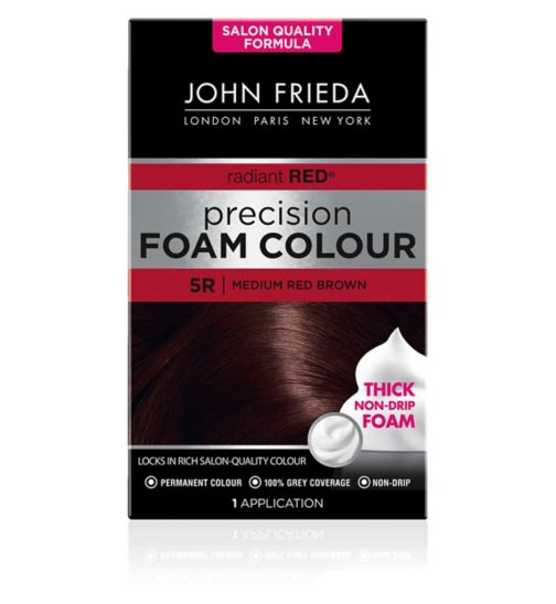 John Frieda Precision Foam Colour medium red brown 5R 130ml