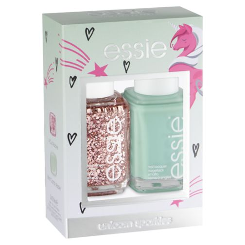 Essie duo kit mint candy cut above nail varnish 27ml