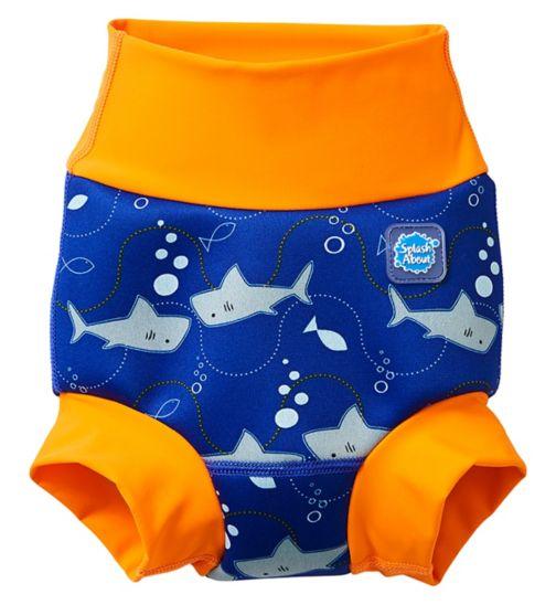 Splash About Happy Nappy Shark Medium, 3-6 Months