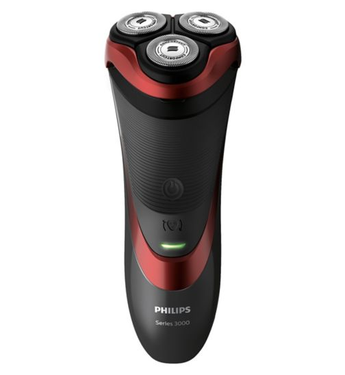 Philips Series 3000 Wet & Dry Electric Shaver S3580/06 with Pop-up Trimmer