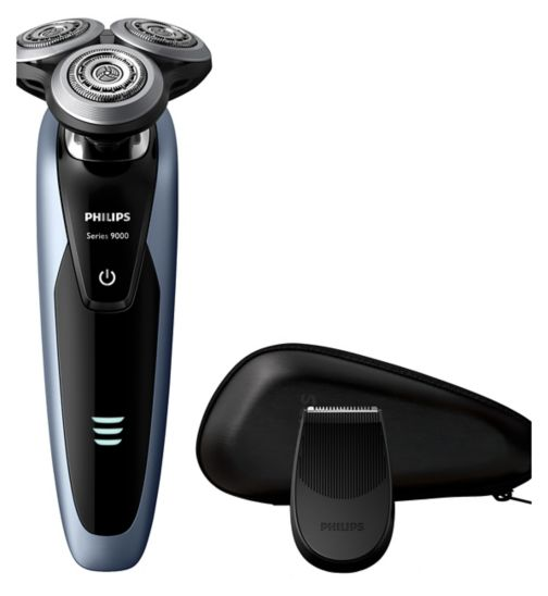 Philips Series 9000 Wet & Dry Men's Electric Shaver S9211/12 with Precision Trimmer
