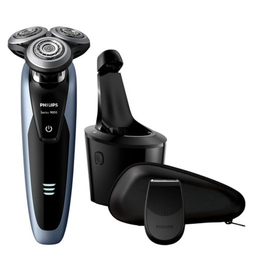 Philips Series 9000 Wet & Dry Men's Electric Shaver S9211/26 with Precision Trimmer &  SmartClean System
