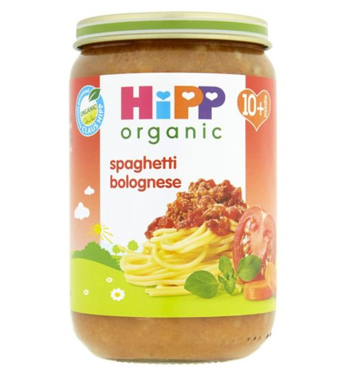 HiPP Organic Spaghetti Bolognese 10+ Months 220g