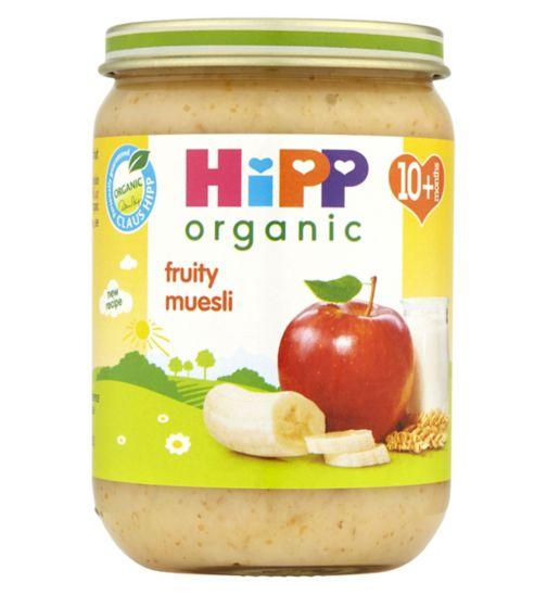 HiPP Organic Fruity Muesli 10+ Months 190g