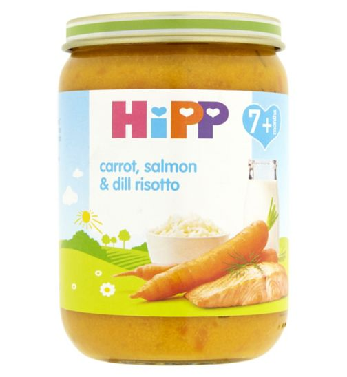 HiPP Carrot, Salmon & Dill Risotto 7+ Months 190g