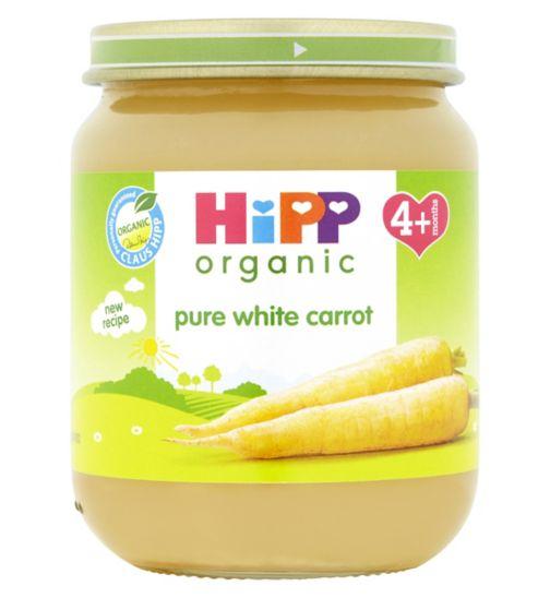 HiPP Organic Pure White Carrot 4+ Months 125g