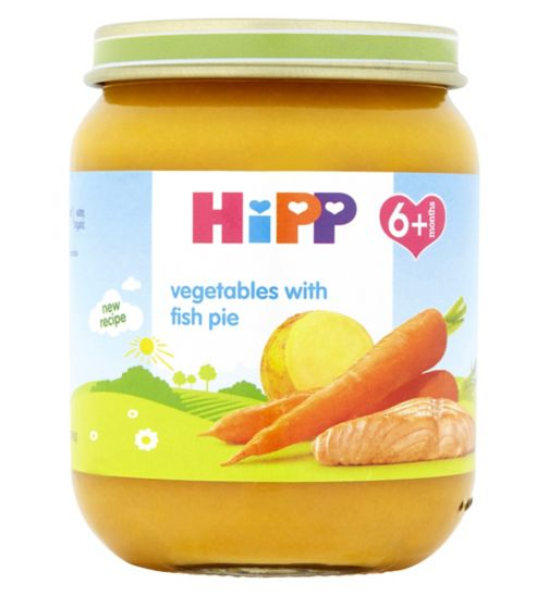 HiPP Organic Vegetables with Fish Pie 6+ Months 125g