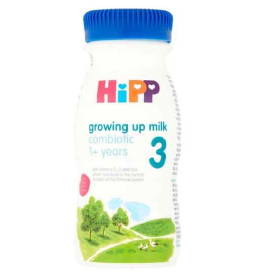 HiPP Organic Combiotic Growing Up Milk from the 12th Month Onwards 250ml