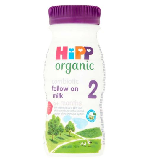 HiPP Organic Combiotic Follow On Milk from 6 Months Onwards 250ml