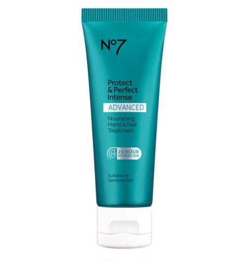 No7 Protect & Perfect Intense ADVANCED Nourishing Hand & Nail Treatment 75ml