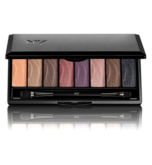 No7 Stay Perfect Eye Shadow Palette Smoky 9.6g
