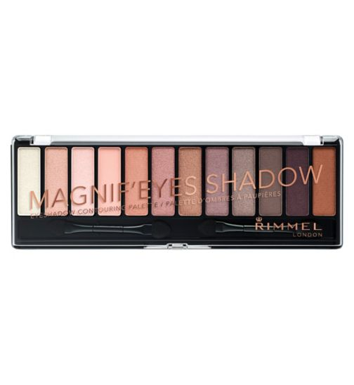 Rimmel London Magnifeyes Eyeshadow Palette 12 pan - london nudes
