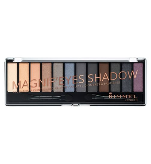 Rimmel London Magnifeyes Eyeshadow Palette 12 pan - Grunge glam