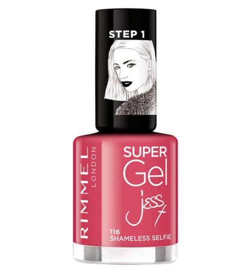 Rimmel London Supergel Gel Nail Polish - London looks by Jess