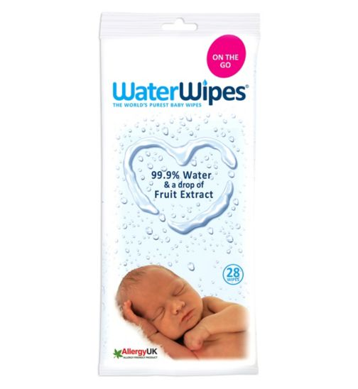 Waterwipes Baby Wipes 28 single pack