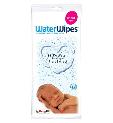 Baby Wipes for sensitive skin, single pack = 28 wipes