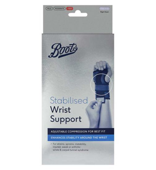 Boots Stabilised Wrist Support – Right