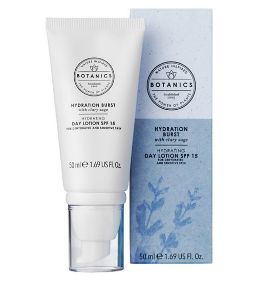 Botanics Hydration Burst Day Lotion SPF15 50ml