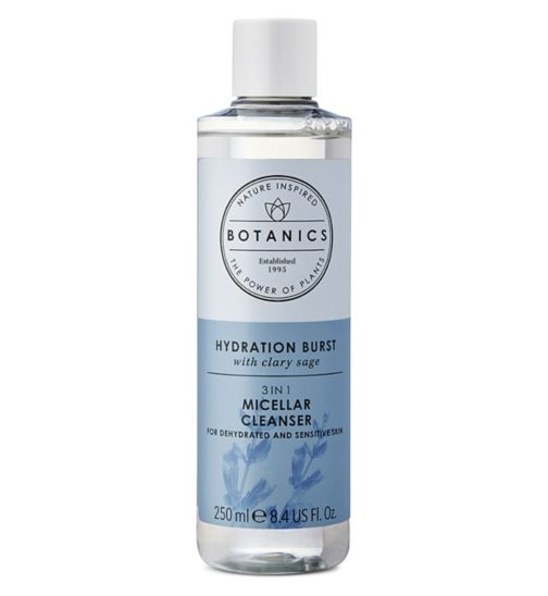 Botanics Hydration Burst Micellar Cleanser 250ml