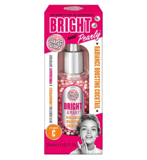 Soap & Glory Bright & Pearly Radiance Boosting Skin Cocktail