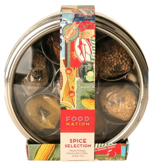 Food Nation Spice Tin