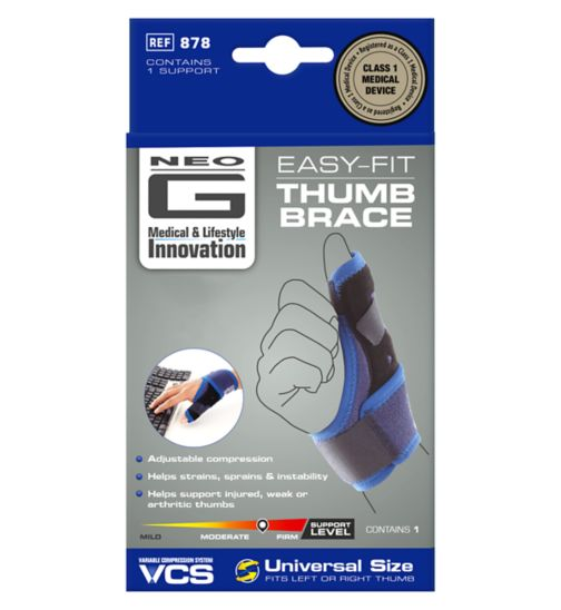 Neo G Easy-Fit Thumb Brace – One Size