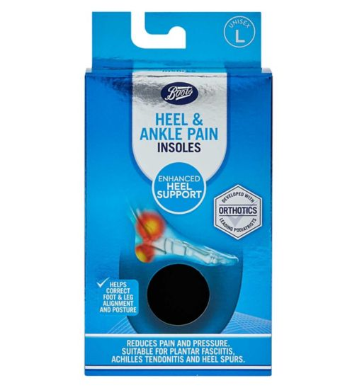 Boots Heel Pain Reliever - L