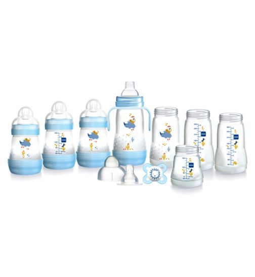 5e881037565d MAM Easy Start Anti Colic Bottle Small Starter Set – Blue