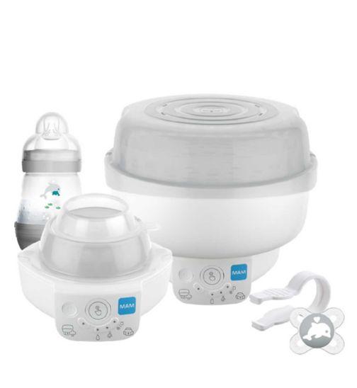 Mam 6 in 1 Electric steriliser and Bottle warmer