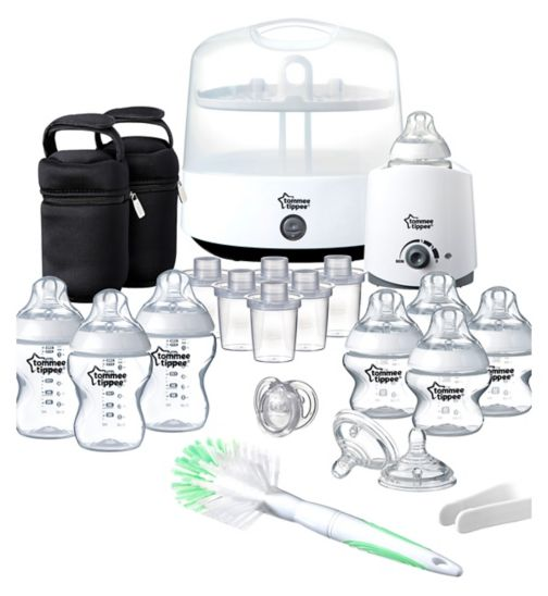 Tommee Tippee Complete Feeding Set White