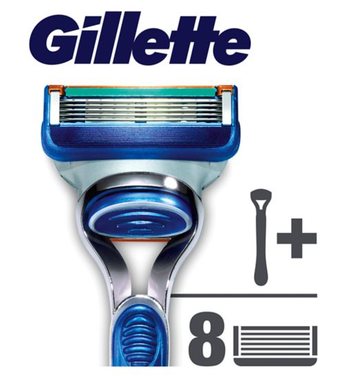 Gillette Fusion Manual Razor with 7 Blades