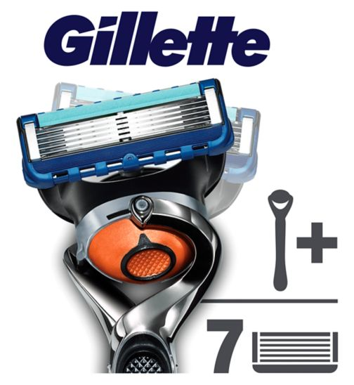 Gillette Flexball Manual Razor with 6 Blades