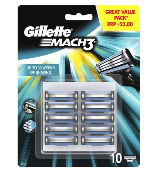 Gillette Mach3 10 Blades
