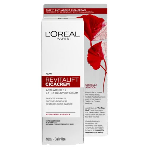 L'Oreal Paris Revitalift Cica Anti Wrinkle Repair Cream 40ml