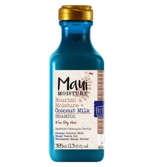 Maui Moisture Nourish & Moisture Coconut Milk Shampoo 385ml